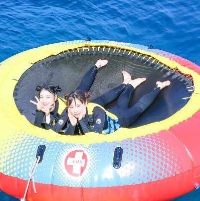 「2日目は朝から思いっきり沖縄の海を楽しめます」イメージ